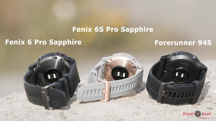 Оптический датчик пульса HR для часов Fenix 6 - Forerunner 945