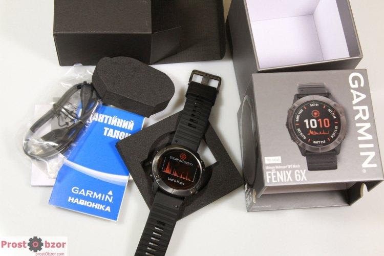 Распаковка Garmin Fenix 6X Pro Solar