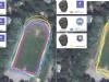 Тест записи трека GPS при пробежке по стадиону - 6X Pro Solar