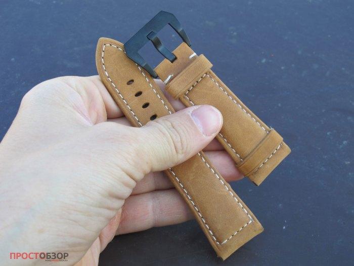 Кожаный ремешок для часов Garmin Fenix 5X, 3HR, 3