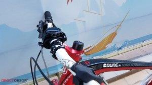Вело крепление Garmin руль велосипеда