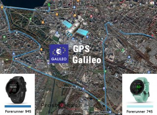 Тест записи GPS трека на автомобиле с часами Garmin Forerunner 745 vs 945