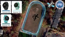 Тест GPS + GLONASS для часов  Garmin Forerunner 745