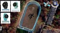 Тест GPS  для часов  Garmin Forerunner 745