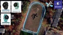 Тест GPS + Galileo для часов  Garmin Forerunner 745