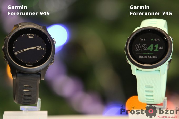 Сравнение часов Garmin Forerunner 745 vs Forerunner 945