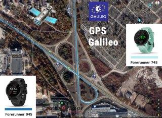 Полный тест записи GPS трека на автомобиле с часами Garmin Forerunner 745 vs 945