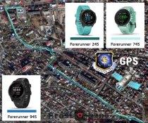Тест записи GPS для часов  Garmin Forerunner 745 vs 945 vs 245