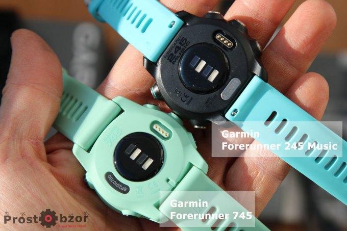 Разъем для зарядки часов Garmin Forerunner 745