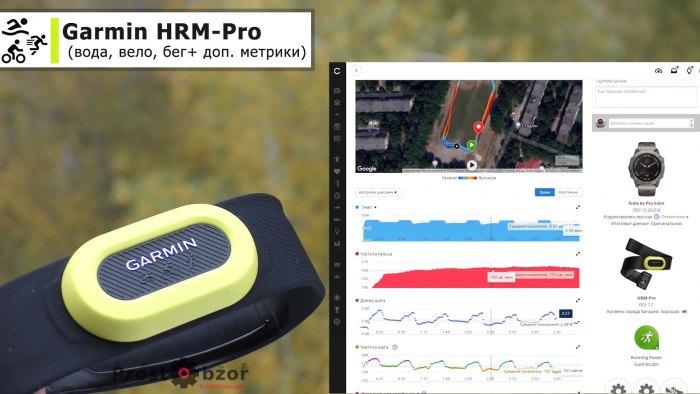 Беговые данные с Garmin HRM-Pro