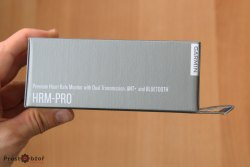 Распаковка и комплектация Garmin HRM-Pro сбоку