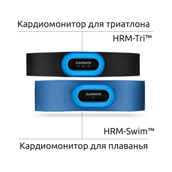 Монитор Сердечной Активности для плаванья и триатлона - HRM-Swim, Trio