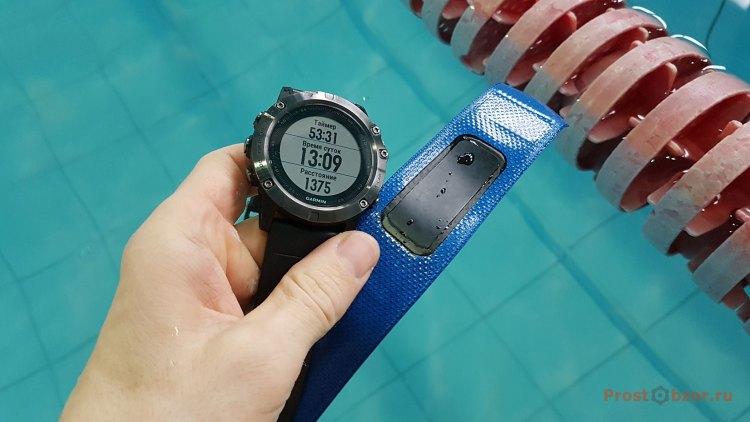 Часы Garmin Fenix 5X + пульсометр для плавания Garmin HRM-SWIM