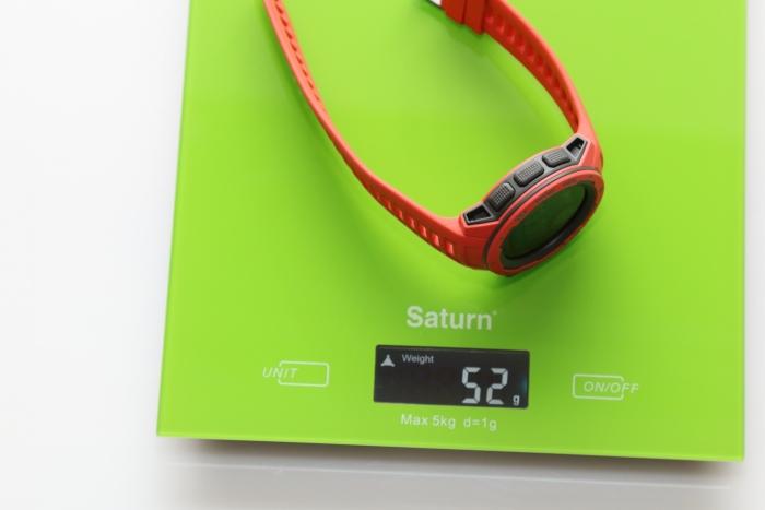 Вес часов Garmin Instinct