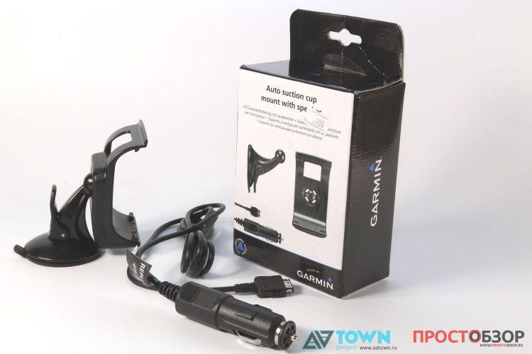 Крепление GPS навигатор Garmin Monterra для автомобиля  - коробка