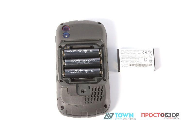 Питание - GPS навигатор Garmin Monterra