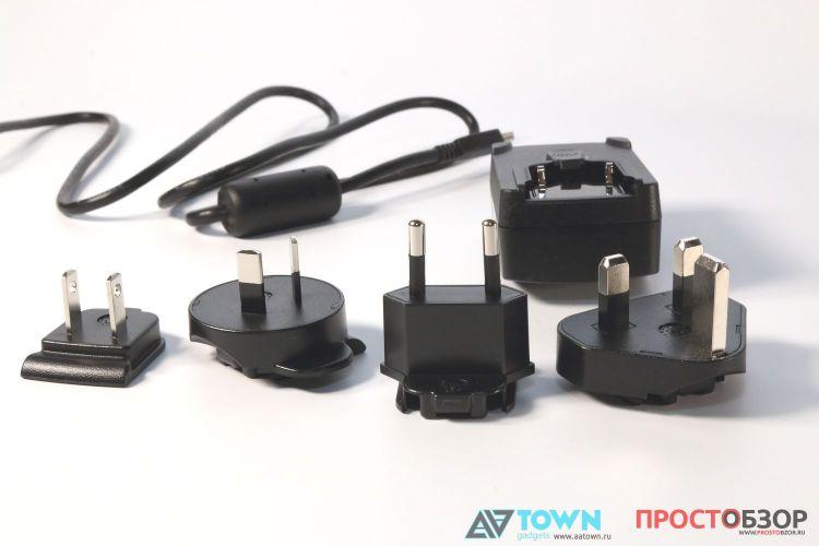 Сменные вилки питания для GPS навигатор Garmin Monterra