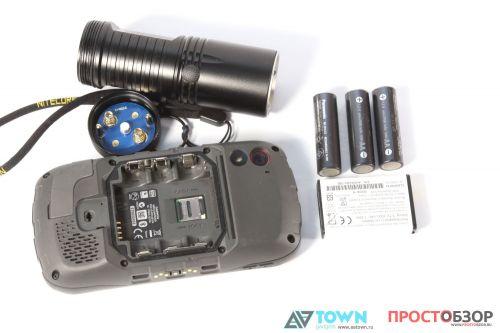 Замена батареек GPS навигатора Garmin Monterra