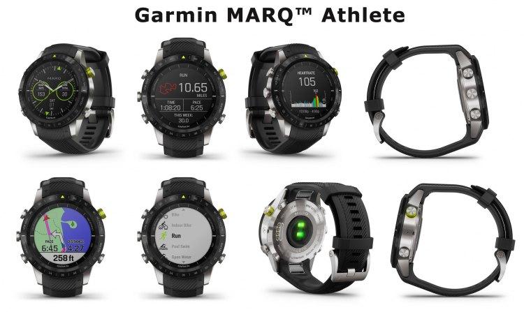 Внешний вид часов Garmin MARQ Athlete