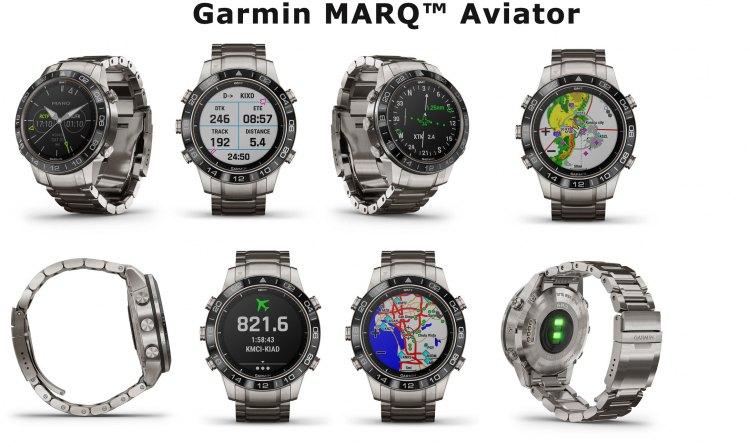 Внешний вид часов Garmin MARQ Aviator