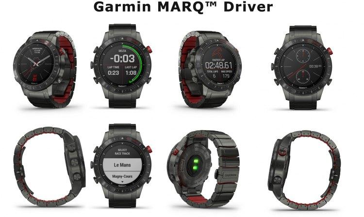 Внешний вид часов Garmin MARQ Driver