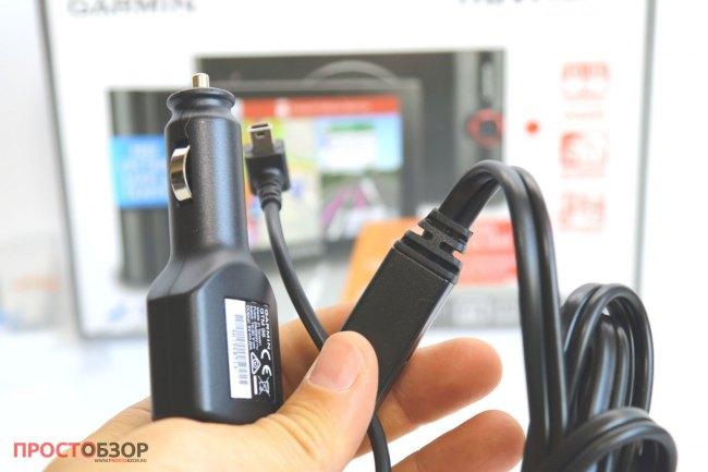 Разъем прикуривателя GPS авто-регистратора Garmin NuviCam