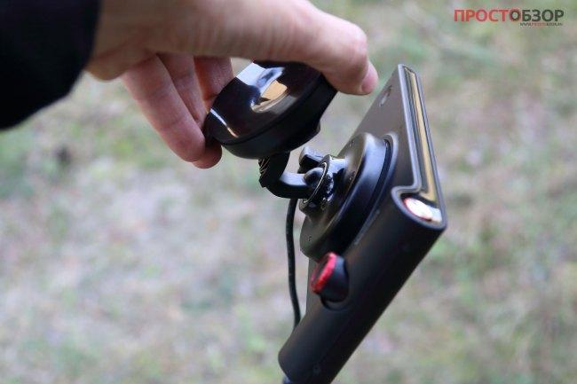 Магнитное крепление GPS навигатора Garmin NuviCam