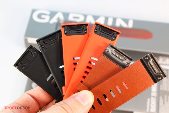 Типы ремешков Garmin QuickFit 26 Watch Bands