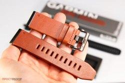 Вид спереди - Кожаный ремешок QuickFit 26 Watch Bands