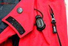 Крепление датчика температуры Garmin Tempe на куртке