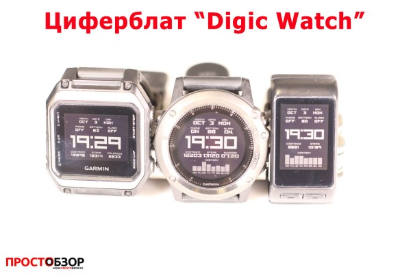 Garmin циферблат для часов Fenix 3 HR, Vivoactive HR, epox - digic-watch