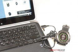 Подключение часов Garmin Fenix 3 HR к ПК через USB кабель