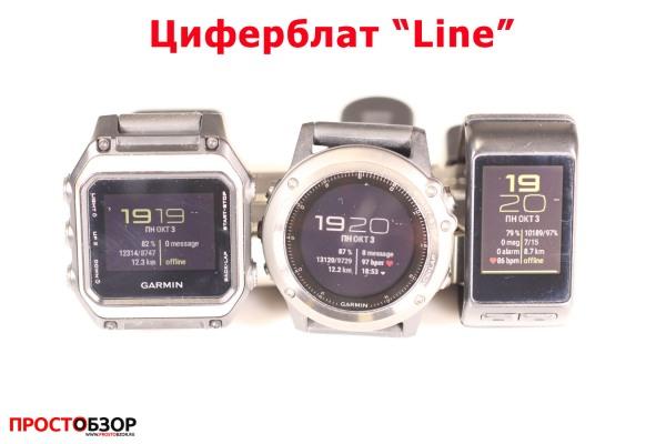 Garmin циферблат для часов Fenix 3 HR, Vivoactive HR, epox - line