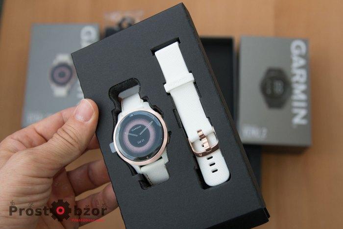 Распаковка часов Garmin Venu 2S