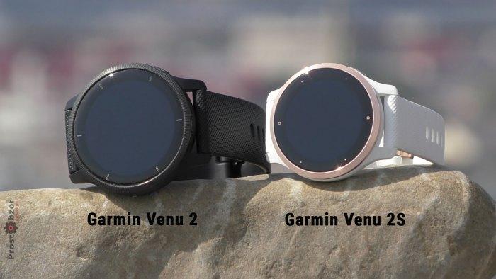 Garmin Venu 2 - 2S - обзор часов и тесты