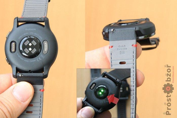 Оптический датчик пульса в Garmin Venu 2