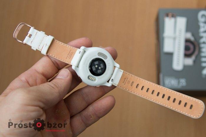 Кожанный ремень часов  Venu 2S