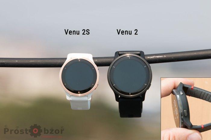 Кнопки часов Venu 2