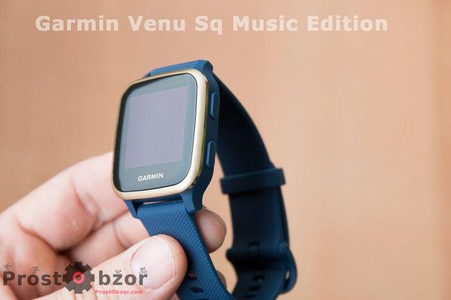 Корпус модели часов  Venu Sq Music Edition