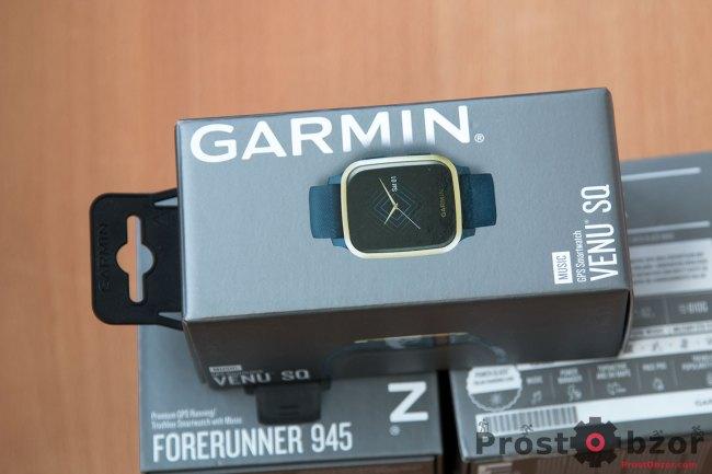 Распаковка часов  Garmin Venu Sq Music Edition