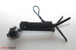 Конструкция селфи-палки-монопод с ножками для экшн-камеры Garmin Virb Ultra 30
