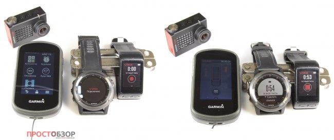 Garmin устройства способные управлять камерой Virb Ultra 30