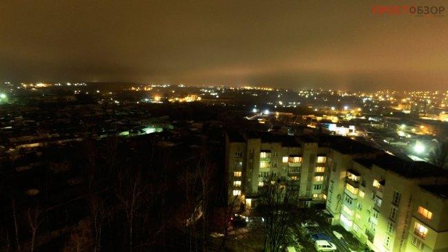 Пример фото ночью с рук