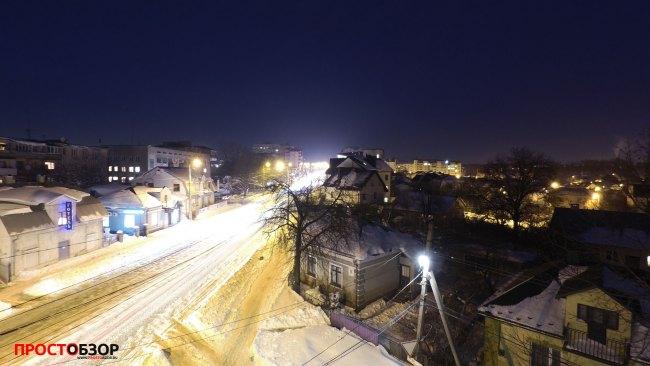 Ночные фото с фиксацией камеры