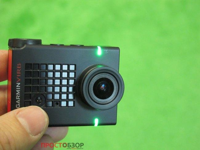Зеленые светодиоды - камера работа к записи