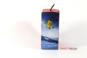 Garmin Virb Ultra 30  - распаковка экшн-камеры - вид сбоку