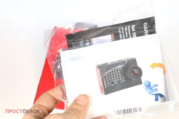 Инструкции к экшн-камере Garmin Virb Ultra 30