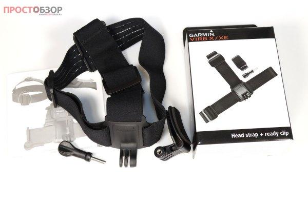 Головное крепление Head Strap Mount With Ready Clip для экнш камеры Garmin Virb Ultra 30