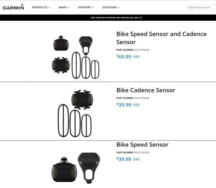 Датчики для велосипедов - Garmin Virb 360