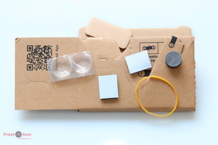 Набор для создания очков Google CardBoard